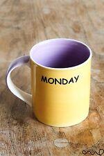 TAZZA in ceramica lunedì il giorno di nascita nato il lunedì Viola Giallo Regalo 10 OZ (ca. 283.49 g)