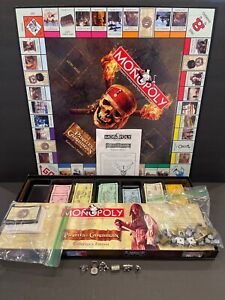 Monopoly Disney Pirates Of The Caribbean Collectors Edition Parker Brothers