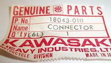 Kawasaki OEM NOS exhaust connector 18043-010 A1 Samurai A7 Avenger A7SS  #4896