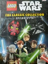 DK Lego Star Wars Disney Classic Collection Episode 1 to 6, NIB, RRP $36