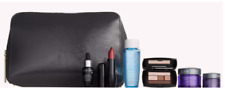 NEW LANCOME Gift Set 7 Pcs Renergie Skincare Makeup Travel Size W/ Cosmetic Bag