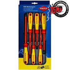Knipex 00 20 12 V01 6Piece 1000V Insulated Screwdriver Set German Made 002012V01