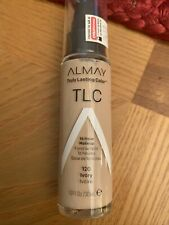 New ListingAlmay Truly Lasting Color Tlc 16 Hr Makeup #120 Ivory Box