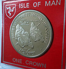 2011 Isle of Man TT Race Mountain Course Centenary Crown Coin BU Collector Gift