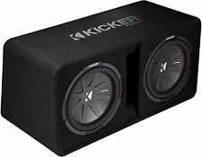 Kicker Dual-bassreflexbox 43 dcompr 10 (dcwr 102-43) SUBWOOFER