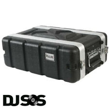 Pulse - ABS-3US Rack Flightcase - 3U SHALLOW DJ Gear Case Carry Carrying Flight