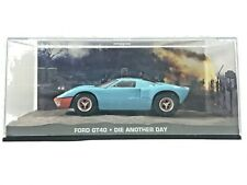 JAMES BOND 007 Collection FORD GT40 DIE ANOTHER DAY Detailed Scale Model Car Toy
