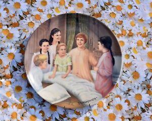 ❤️ CUTE! Sound of Music My Favorite Things Collector Plate Vintage Julie Andrews
