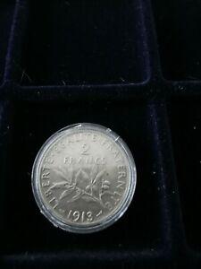 2 Francs Semeuse Argent 1913