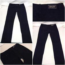 Miss Me Jeans Sz 30 Black Skinny Denim Cotton Lycra Pants Mint F6182 YGI