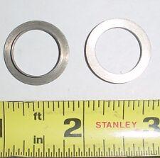 6 ea .625 Id x .671 Od x .079 L Fl Bushings Steel