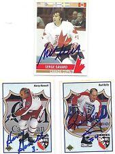 1991 UD #511 Harry Howell Hockey Heroes Signed Autographed Card