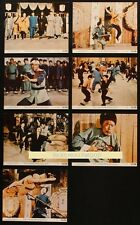 7 Original CHINESE PROFESSIONALS ONE ARMED BOXER 8x10 Lobby Cards YU WANG