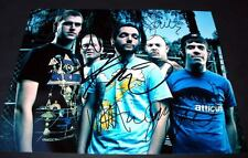 """A DAY TO REMEMBER PP SIGNED 10""""X8"""" PHOTO REPRO JEREMY McKinnon"""