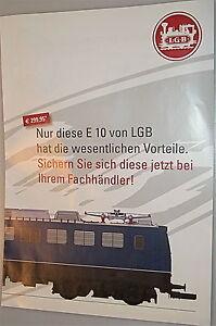 10 From LGB Märklin New Products Brochure Notice Pre-order Μ