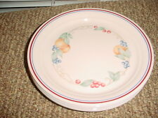 "CORELLE ABUNDANCE 8.5"" LUNCH PLATES SET OF 4 GENTLY USED FREE USA SHIPPING"
