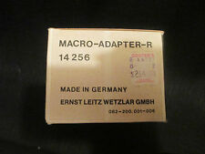 VINTAGE LEITZ LEICA MACRO ADAPTER R EMPTY BOX AND INSTRUCTION BOOKLET GERMANYNA