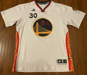 Golden State Warriors Chinese New Years Jersey #30 Stephen Curry