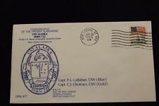 DRW NAVAL COVER #77 COMMISSIONING USS ALASKA (SSBN-732) 1986 MACHINE CANCEL