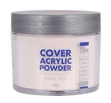 The Edge Unghie 40g professionale Cover Polvere acrilica Freddo Rosa Extention