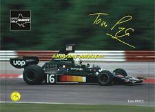 TOM PRYCE (Shadow) - autogramm, Fotokopie/copy, 10x15 cm
