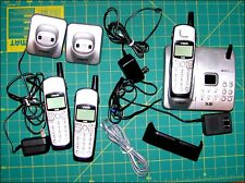 Vtech 3 Handset Cordless Phone System 5.8 Ghz Answering Machine Ia5877