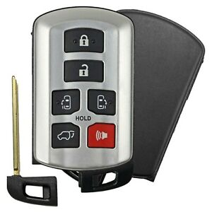 New For 2011-2019 Toyota Sienna Van Keyless Entry Remote Smart Key Fob 6 Button
