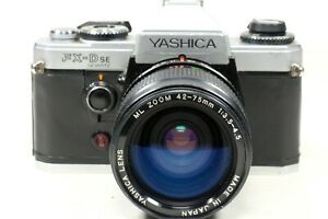 Yashica FX-D SE Quartz with Yashica  42-75mm Zoom NEW Covering!!!