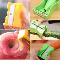 Cucumber Carrot Sharpener Peeler Fruit Vegetable Curl Slicer Kitchen Gadget Tool