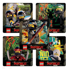 "25 Lego Ninjago Stickers, Assorted, 2.5"" x 2.5"" each, Party Favors"