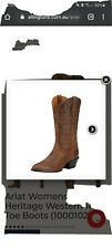 Ariat womens boots 7.5