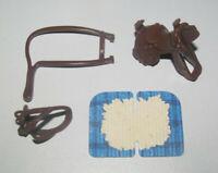 Playmobil Lot Accessoire Cheval Equitation Cowboy Selle + Couverture + Harnais