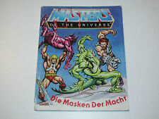 MOTU HE-MAN MASTERS OF THE UNIVERSE MINI COMIC 1983 MASKS OF POWER - DE IT HK