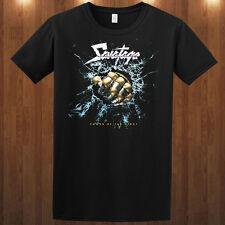 Savatage tee Power Of The Nite American heavymetal band t-shirt S M L XL 2XL 3XL