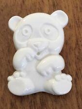 Panda Shank Buttons 29x22mm Pack Of 6