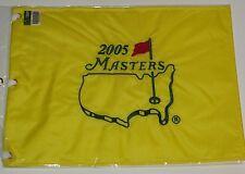 2005 Masters golf flag tiger woods wins augusta national pga
