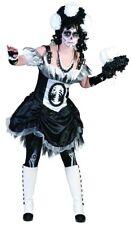 Zombie Novia Disfraz para Mujer Fantasmas Esqueleto Halloween Vestido Velo %