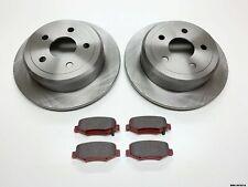 2 x Front Brake Disc /& CERAMIC Pads Jeep Wrangler YJ /& TJ 1990-1999 BRK//TJ//026A