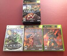 HALO Triple Pack In Box (XBOX games)