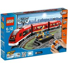 LEGO CITY 7938 RED PASSENGER TRAIN SET - RETIRED - BRAND NEW AND SEALED