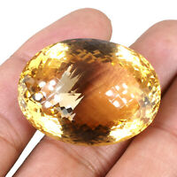 VVS Natural Citrine 108 Cts AAA Fiery Premium Pendant Size Certified Gemstone