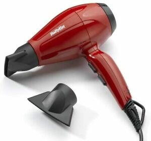 BaByliss 6615E Dryer Of Hair Professional 2400 W Motor AC, Ionic 2 Nozzles