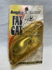 Vintage Bagley Fishing Lure Fat Cat Balsa Wood Body Nos Free Shipping