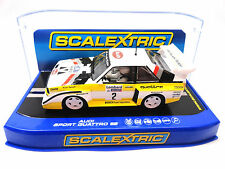 "Scalextric ""Audi"" Audi Sport Quattro E2 DPR Lights 1/32 Scale Slot Car C3634"