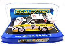 "Scalextric ""Audi"" Audi Sport Quattro E2 DPR Lights 1/32 Scale Slot Car C3634"
