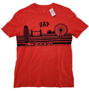 Gap Kids Short Sleeve City T-Shirt Red London Size XL 12
