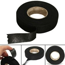 19mm x 15M Looms Cars Wiring Harness Tape Strong Adhesive Cloth Fabric Tape DSUK