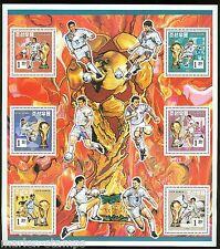 KOREA SCOTT#3400a WORLD CUP SOCCER  SHEET OF SIX  MINT NH