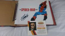 Autographed by STAN LEE, Spider-Man Vault: Museum in a Book – Rare Collectable