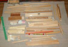 Stock up a Dollhouse Lumberyard, 11 lb + Moulding, Trim, Bead Board, Flooring +